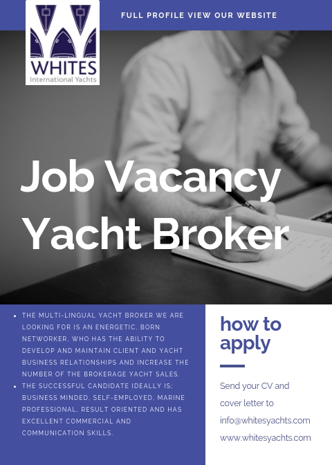 Vacancy -Yacht Broker