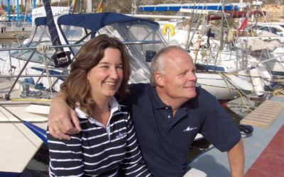 Arend and Jacqueline Venema new owners Whites International Yachts Mallorca