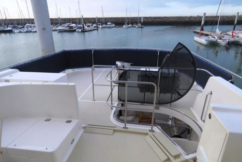 displacement trawler for sale - motor yacht